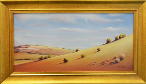 Shane Moad Looking Over Bald Hill Beverley Painting