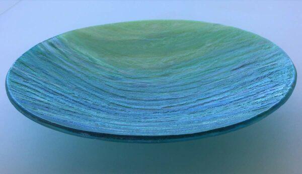 Vivienne Jagger Seascape Bowl Glass Side