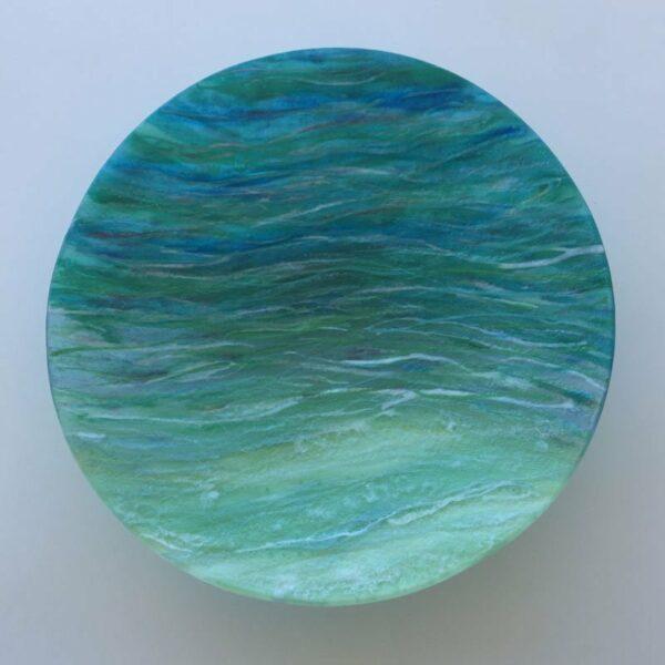 Vivienne Jagger Seascape Glass Bowl