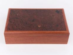 Andrew Prusenko   Jarrah Burl Jewellery Box Fine Art