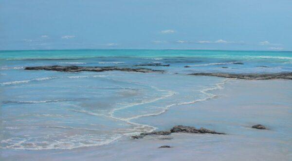 Ann Steer Coastal Stroll Cable Beach Painting