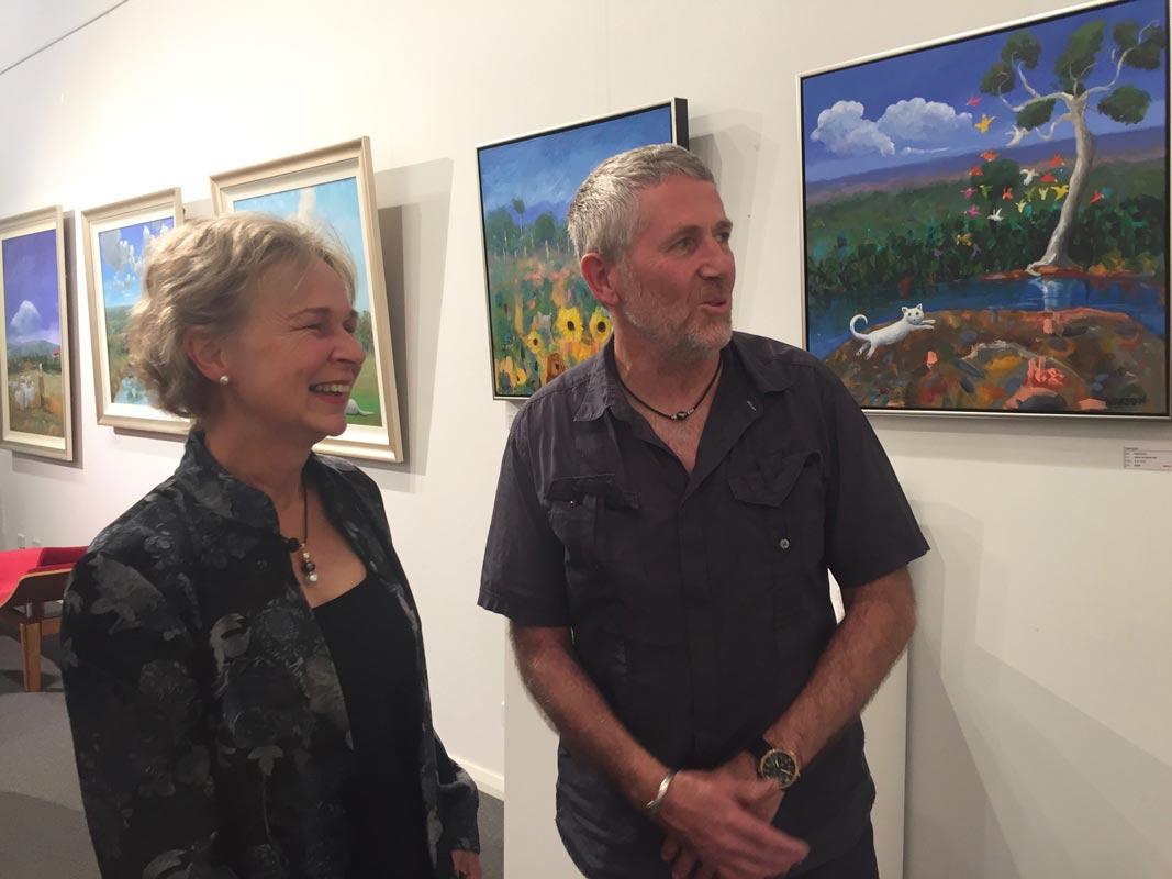 Helen Norton Exhibition Opening Night 1
