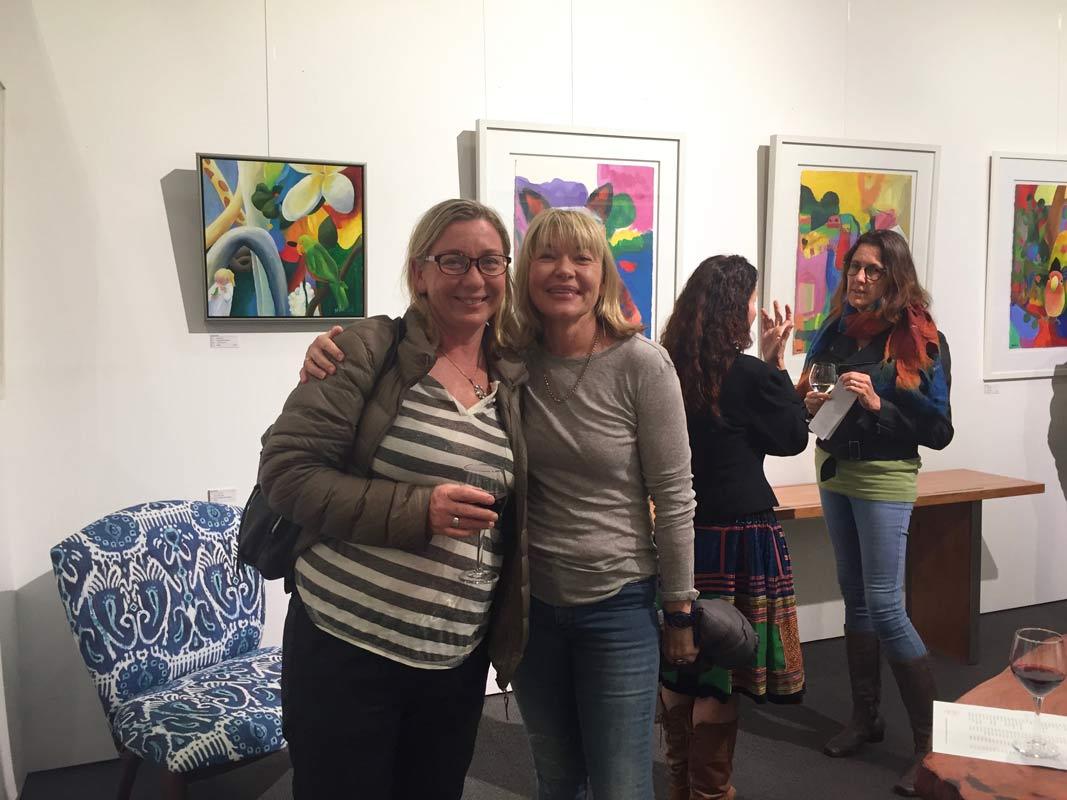Helen Norton Exhibition Opening Night 3
