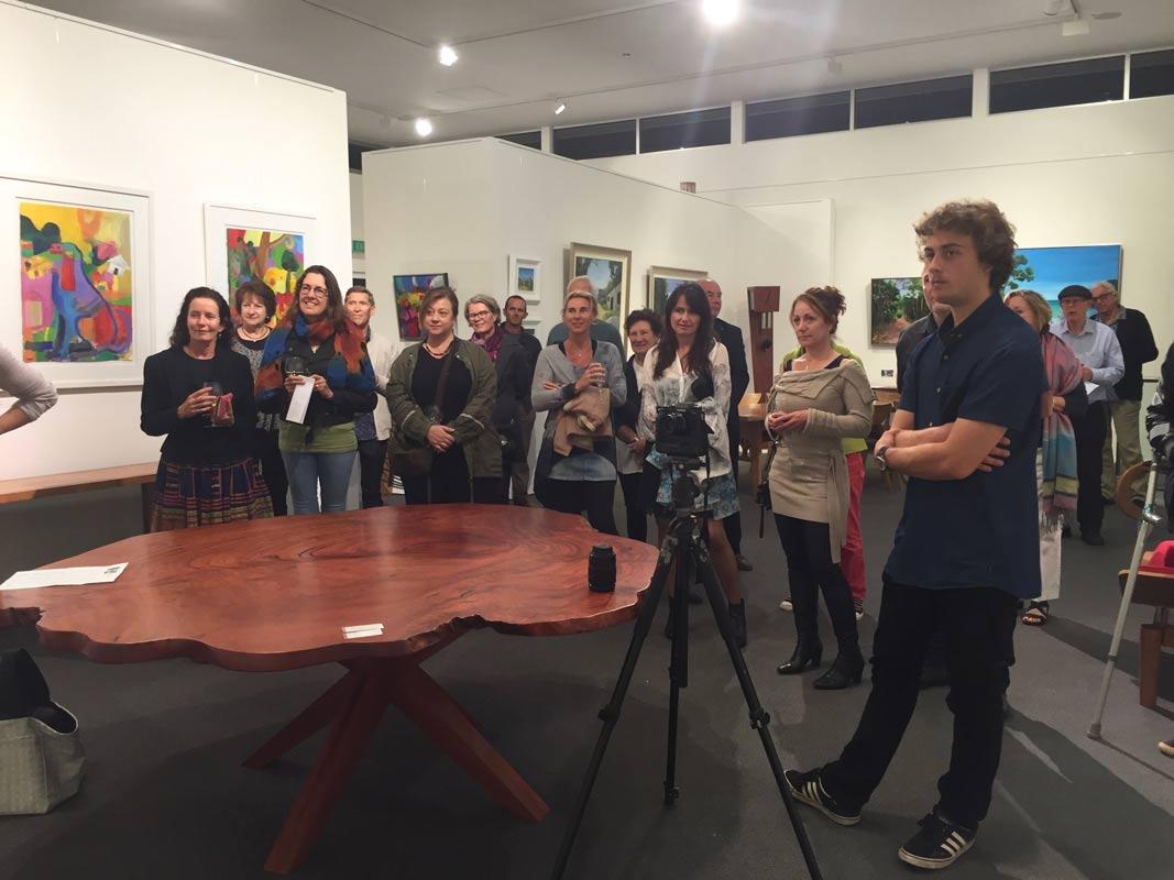 Helen Norton Exhibition Opening Night 5