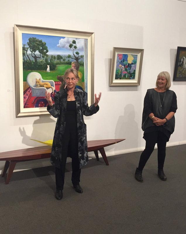 Helen Norton Exhibition Opening Night 6