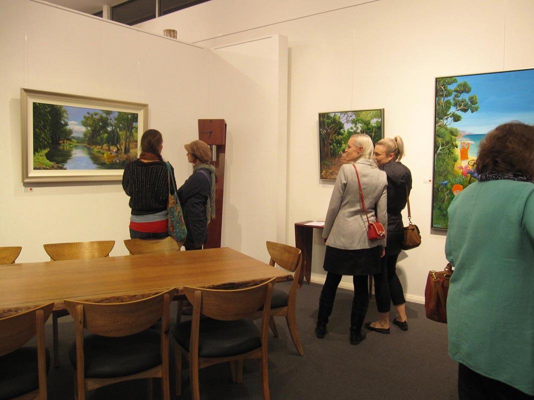 Helen Norton Exhibition Opening Night 8