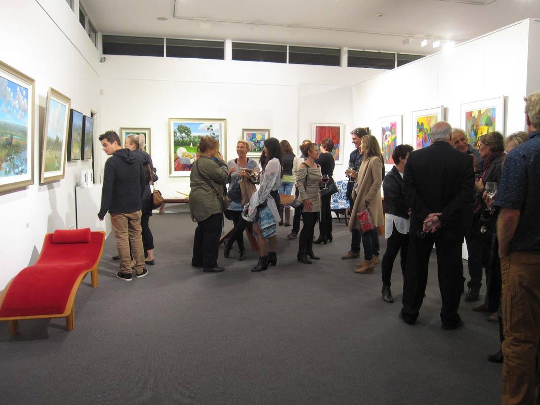Helen Norton Exhibition Opening Night 9