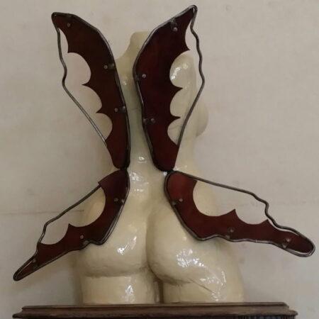 Lauren Rudd Flutter By Lady Sculpture Back