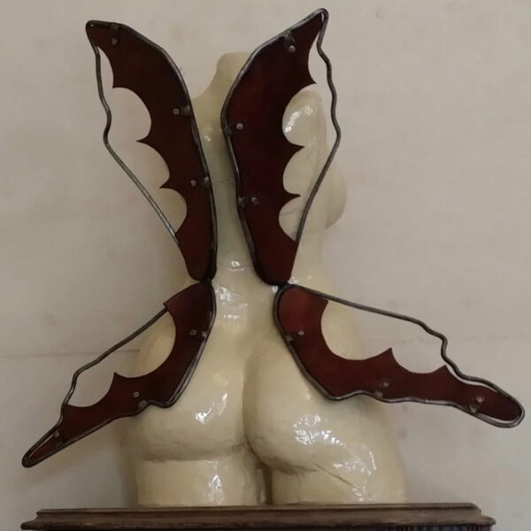 Lauren Rudd Flutter By Lady Sculpture Back