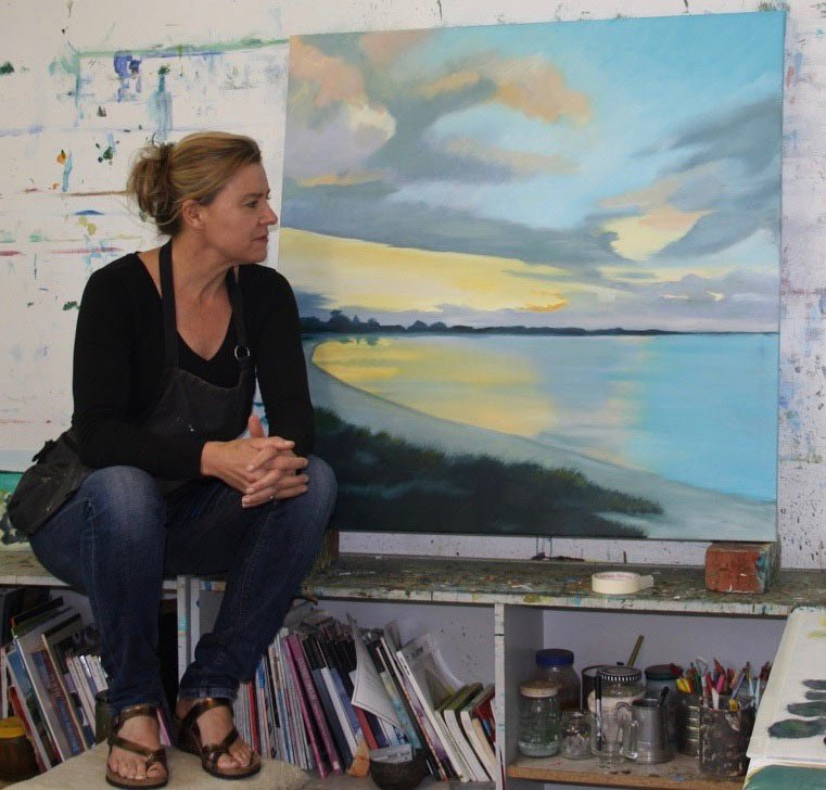 Rowena Keall Walsh Artist Studio 1