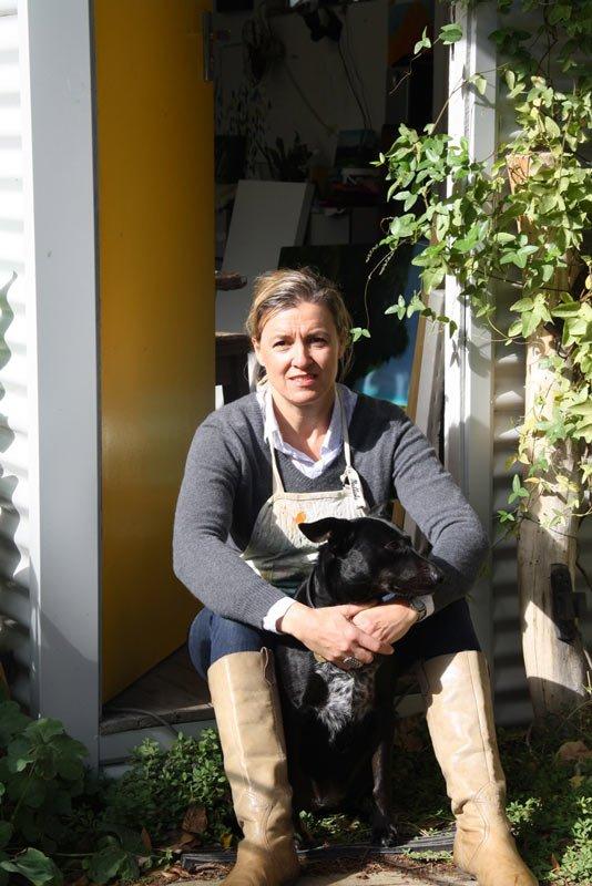 Rowena Keall Walsh Artist Studio 2