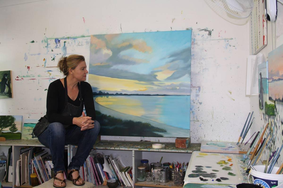 Rowena Keall Walsh Artist Studio 3