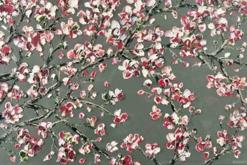 Felicia Aroney Blush Maglolias Painting