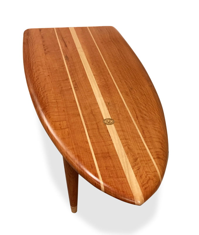 Genial Fish Surfboard Coffee Table Fine Art