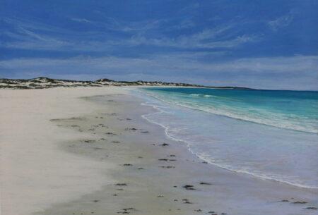 Ann Steer Morning Beach Stroll Cable Beach Painting