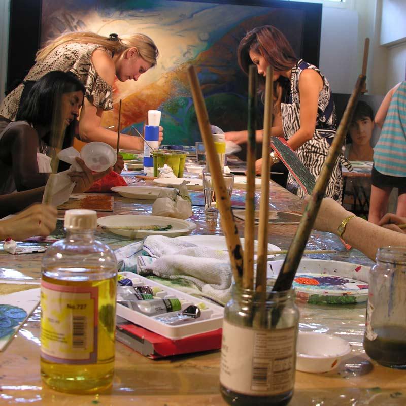 Astrid Dahl Art Masterclass Cabin Fever
