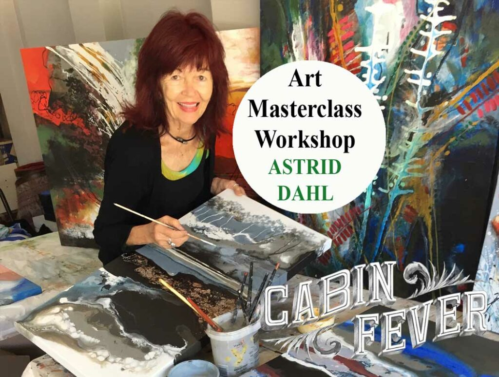 Art Masterclass Workshop   ASTRID DAHL Fine Art
