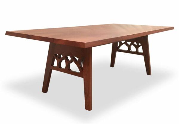 Canopy Jarrah Dining Table Side 2