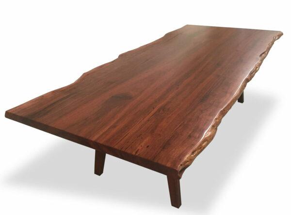 Canopy Jarrah Dining Table Single Slab Jarrah Top