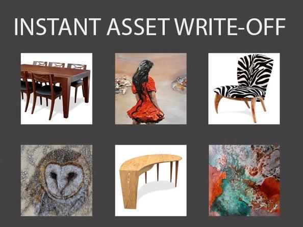 Jahroc Galleries Instant Asset Write Off