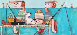 Janine Daddo   Between The Buoys Fine Art