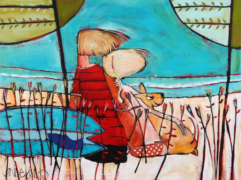 Janine Daddo The Perfect Set Painting