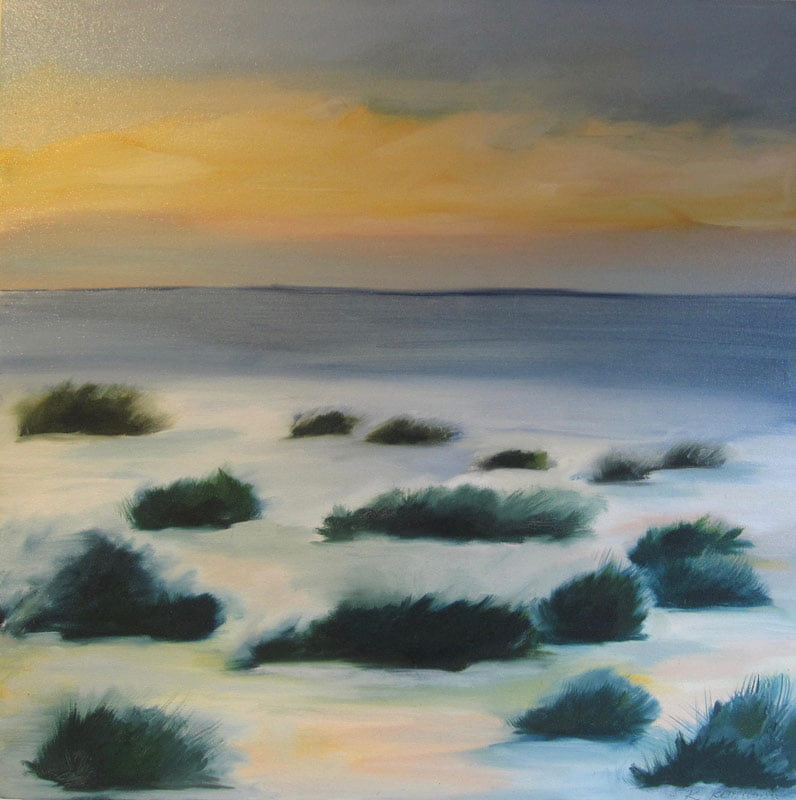 rowena keall walsh - autumn beach