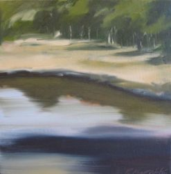 Rowena Keall Walsh   River Reflections Fine Art