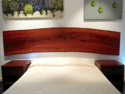 Unique Jarrah Headboard Fine Art