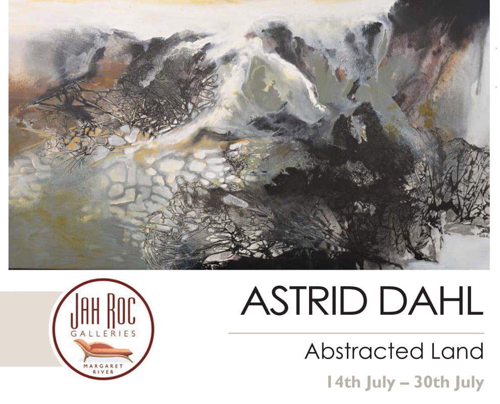 Astrid Dahl Exhibition   Abstracted Land 14th July Fine Art