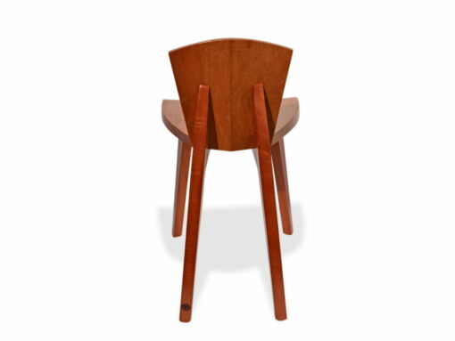 Designer Wooden Guitar Chair Back