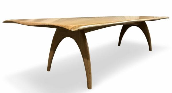 Tex 3M Blackbutt Dining Table Side
