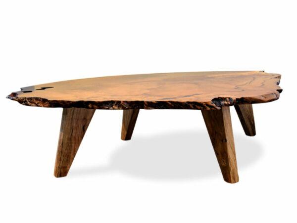 Unique Marri Burl Coffee Table Fine Art