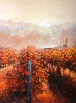 peter scott daybreak painting
