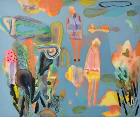 Becky Blair Cactus Garden Painting