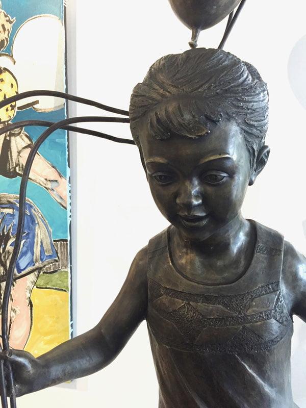 Dbr257 David Bromley Celebration Bronze Detail