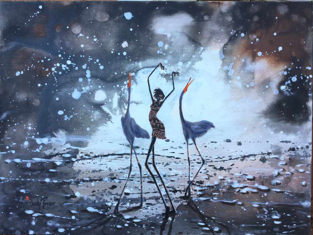 Judy Prosser Night Dancer Painting