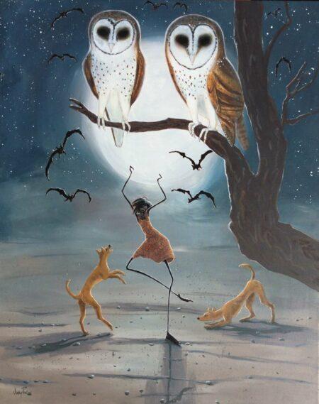 Judy Prosser Nightowl Dancer Painting