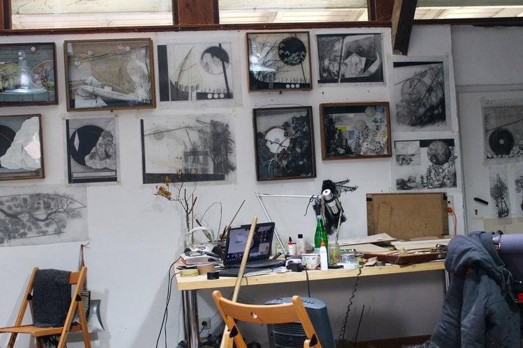 Katharina Meister Artist Studio