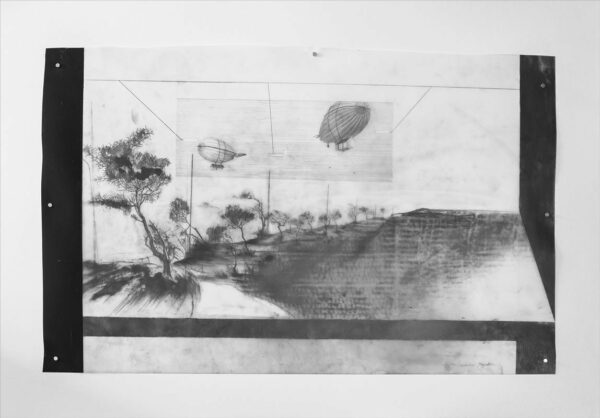 Katharina Meister Flying Houses Drawing