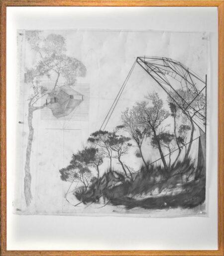 Katharina Meister Sketch To Inverted Drawing Framed