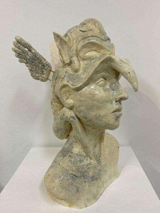 Lauren Rudd Mischief Out Of Control Sculpture