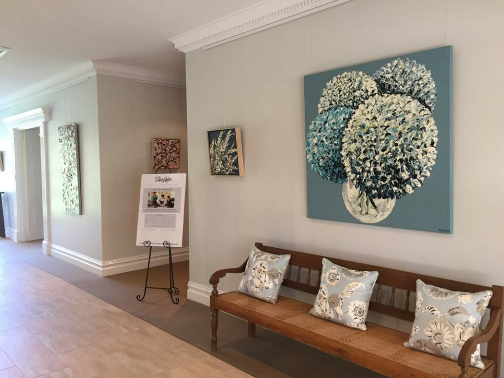 Felicia Aroney brings Spring into Cape Lodge Fine Art