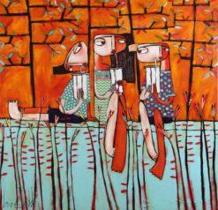 Janine Daddo   3 Shakes 1 Sunday Fine Art