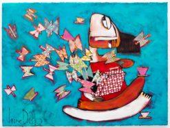 Janine Daddo   Butterfly Dreaming Fine Art