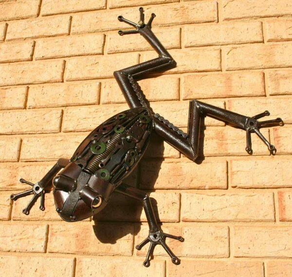 Jordan Sprigg Australian Tree Frog Metal Sculpture