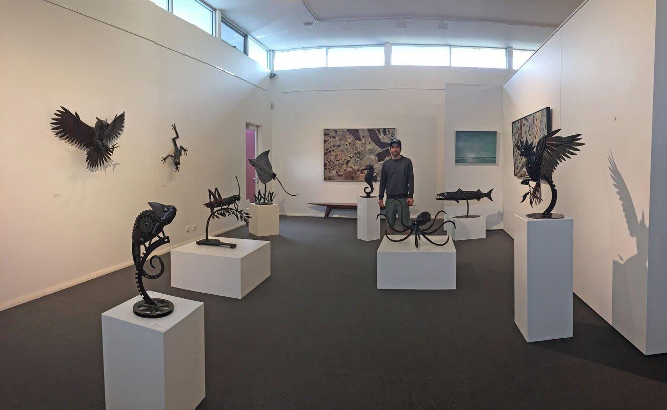 Jordan Sprigg In The Gallery 2