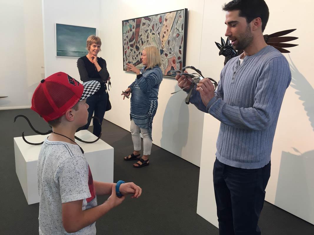 Jordan Sprigg In The Gallery 7