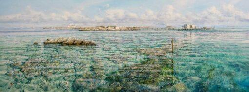 Larry Mitchell Coronation Island Abrolhos Painting
