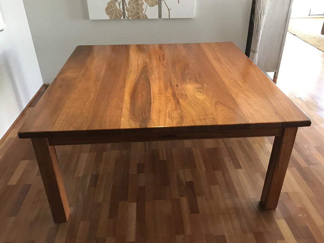 Resale square dining table fine furniture design